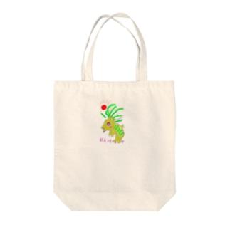 がおがおさん Tote bags