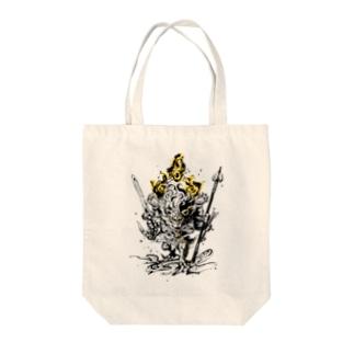 降三世明王【獅子】 Tote bags