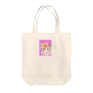 くるくるちゃん Tote bags