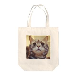 アシンメトリー(輪郭が) Tote bags