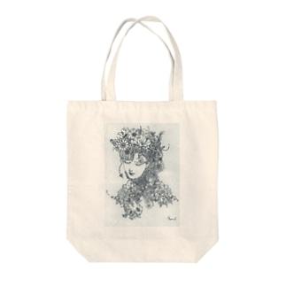 フローラの夢 Tote bags