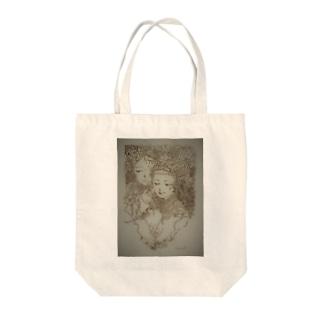 女友達 Tote bags