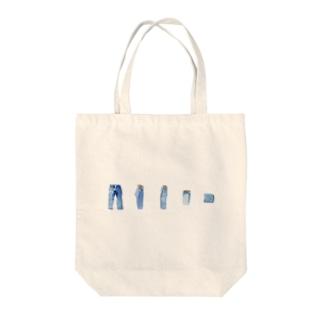 毎日図鑑「ふくのたたみかた2」 Tote bags