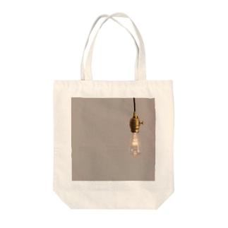 『LAMP』 Tote bags