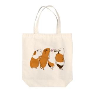 チンアナゴモルモット Tote bags
