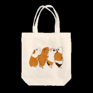 n555のチンアナゴモルモット Tote bags