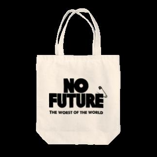 ShineのNO FUTURE Tote bags