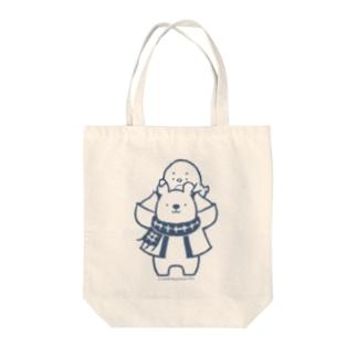 「ナンちゃん&ホクさん のトートバッグ」 Tote bags