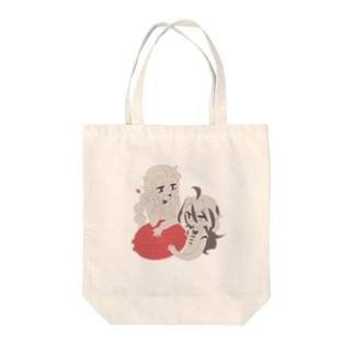 サソリとタラ Tote bags