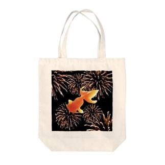 金魚花火 Tote bags