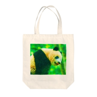 パンダ01 Tote bags