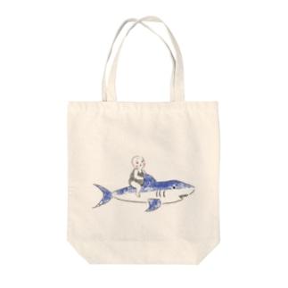 サメ太郎 Tote bags