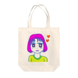 恋する喪女 Tote bags