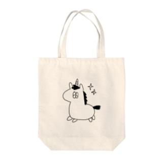 つののうま(くうそう) Tote bags