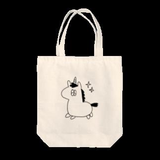 ymd234のつののうま(くうそう) Tote bags