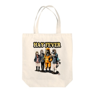 HAY FEVER Tote bags