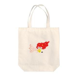 オニアイちゃん Tote bags