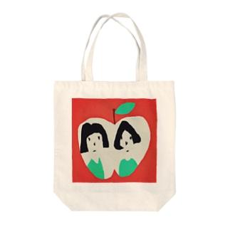 りんごの窓 トートバッグ