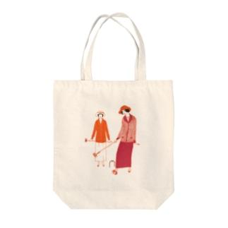 Deux costumes de sport:2つのスポーツスーツ(5271600) Tote bags