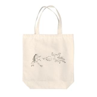 鳥獣戯画のやつ Tote Bag