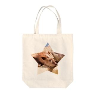 星とおやすみ動物 Tote bags