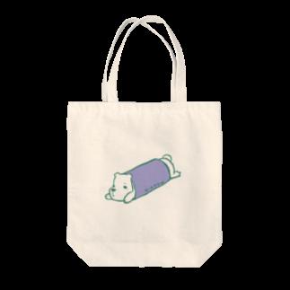 ロルクのロールクマ Tote bags
