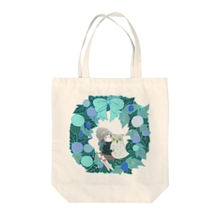 Warm Winter Tote bags
