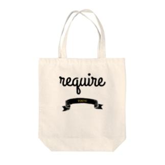 ロゴ2 Tote bags