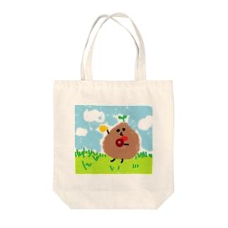 t-cho(ドーナッツ) Tote bags