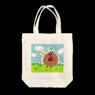 豆田さんのt-cho(ドーナッツ) Tote bags