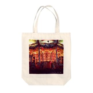 ぴかぴか Tote bags