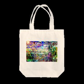 RukbatのWeb Color City Tote bags
