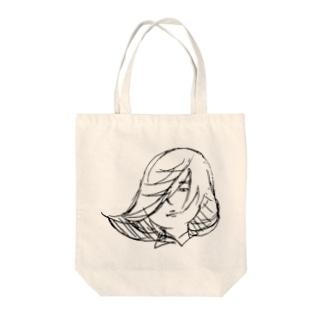 神風 Tote bags