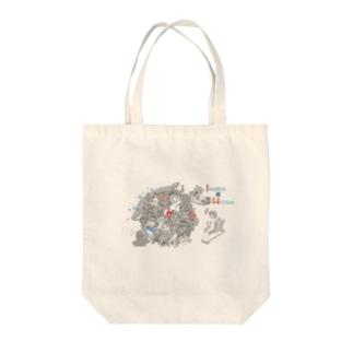 RES 塊ingress兵庫 Tote bags