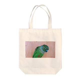 うちのこじんちゃん Tote bags