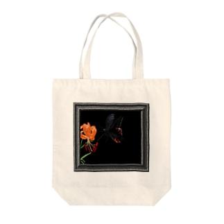 クロアゲハ Tote bags
