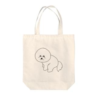 うんポー!!! Tote bags
