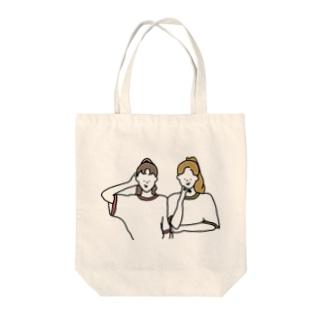 ポニンテール Tote bags