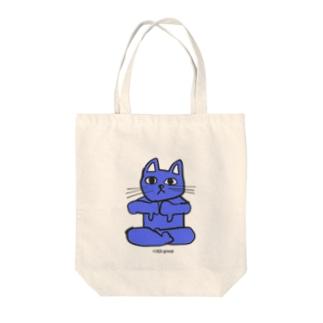 フレキシビリティー・ラックス・誠(2EA group カラフルニャーンコ軍団) Tote bags