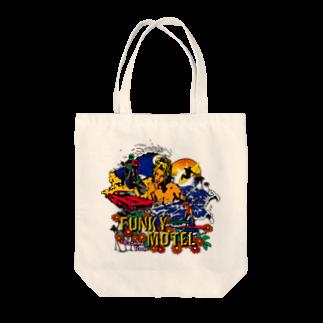 JOKERS FACTORYのFUNKY MOTEL Tote bags