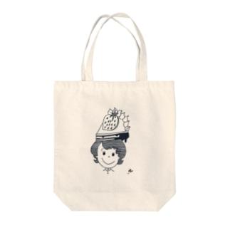 anokoちゃん しょーとけーきのせ Tote bags