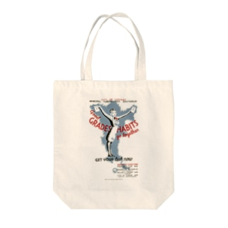 Vintage Health Test Poster:ヴィンテージ 健康テストポスター Tote bags