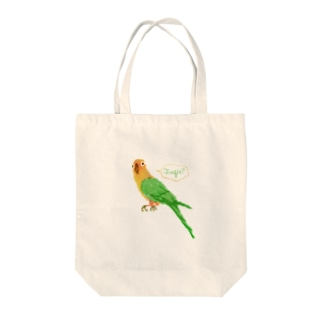 JUNGLEインコ Tote bags