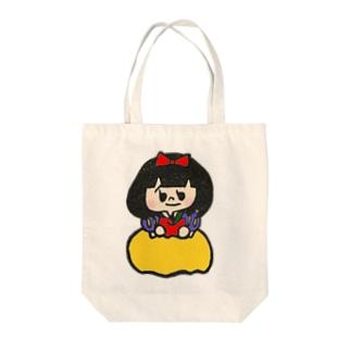 白雪姫 Tote bags