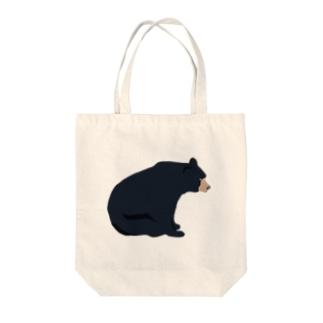 ぼーっとしてるクマ トートバッグ