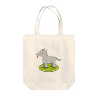 葦毛さん Tote bags