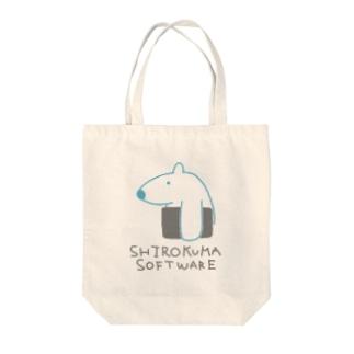 しろくまソフトウェア Tote bags