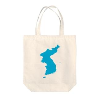 統一朝鮮旗 General Korea flag Tote bags