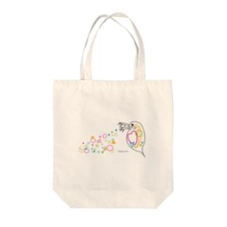 みじんこリチャード Tote bags