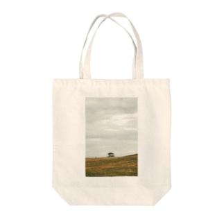タスマニアの丘トート Tote bags